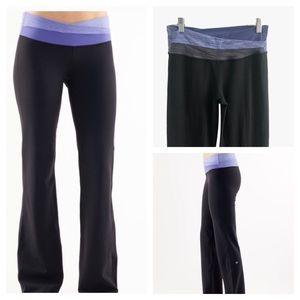 LULULEMON Astro Flare Yoga Pants Black Size 6